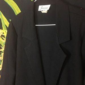 Vintage Jackets & Coats - VINTAGE / Black Blazer